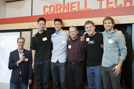 Cornell Tech students show off their innovations